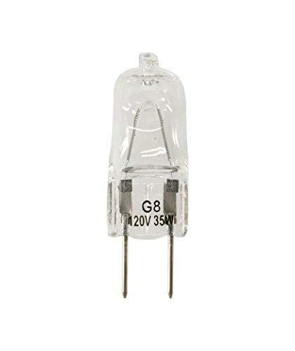 - Vstar G8 120V 35W Halogen Light Bulbs(10 Pcs)