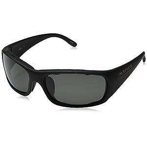 Native Eyewear Bomber Sunglasses, Matte Black with Gray Lens