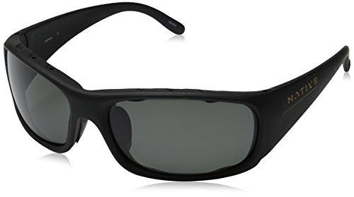 Native Eyewear Bomber Sunglasses, Matte Black with Gray - In Usa Sunglasses Mens Made