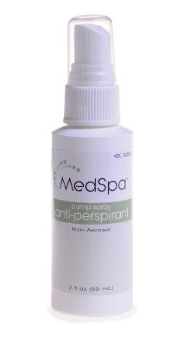 Anti Perspirant Pump Spray - Medline MSC095012 MedSpa Pump Spray Antiperspirant/Deodorant, 2 oz (Pack of 48)