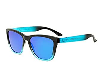 Gafas de sol MOSCA NEGRA modelo ALPHA SUNSET Blue - Polarized - TR90