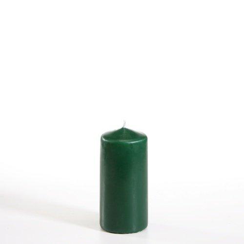 Papstar Bougie cylindrique, Vert foncé, 1PC. 50mm, 100mm