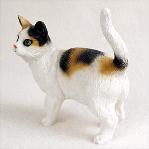 Conversation Concepts Calico Shorthaired Standard Figurine Set of 6