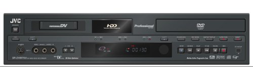 JVC SR-DVM700US 3-in-1 Professional Series Video Recorder (MiniDV, - Mini Dv Camcorder Dvd