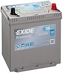 Exide EA386 Premium STARTERBATTERIE 12V 38AH 300A