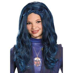 Disney Descendants Blue Evie Wig by Disguise