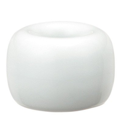 Muji White Porcelain Tooth Brush Stand - White