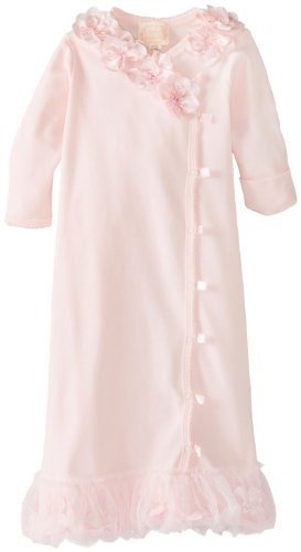 Biscotti Baby Girls Newborn Hide And Seek Gown Pink 3 Months Color