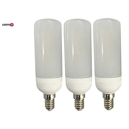 Lexman - Bombilla tubo LED 9.5 W (equiv. 75 W) E14 4000 K: Amazon.es: Iluminación
