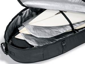 """DaKine Unisex 7'4"""" World Traveler Bag,Grey,One Size"""