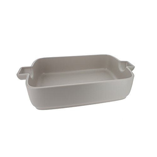 French Home 9.5-inch White Flame Top Rectangular Baking Dish