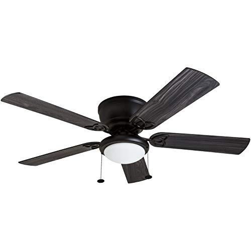 - Prominence Home 50853-01 Benton Hugger Ceiling Fan, 52