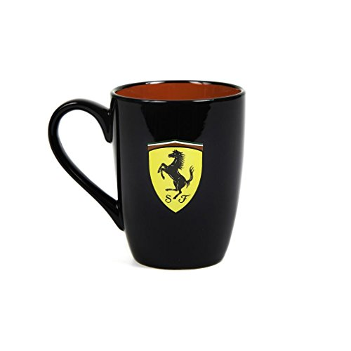 Scuderia Ferrari Formula 1 Authentic 2018 Black Scudetto Mug