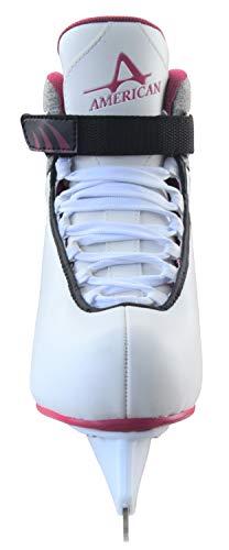 Soft Athletic Hockey Da Shoe Boot Grey American Pattini awxU44