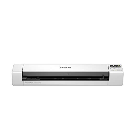 Brother DS-940DW - Escáner móvil (A4, Doble Cara, Wi-Fi, batería integrada, 30 ppm, Color, Negro y Blanco)