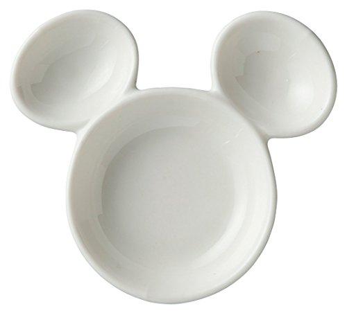 디즈니 미키 마우스 간장 접시 콩 요리 SAN2460 / 간장 바르고 (스프레이) SAN2438