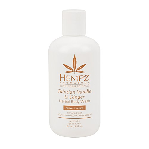 - Tahitian Vanilla & Ginger Body Wash - 8 Ounce