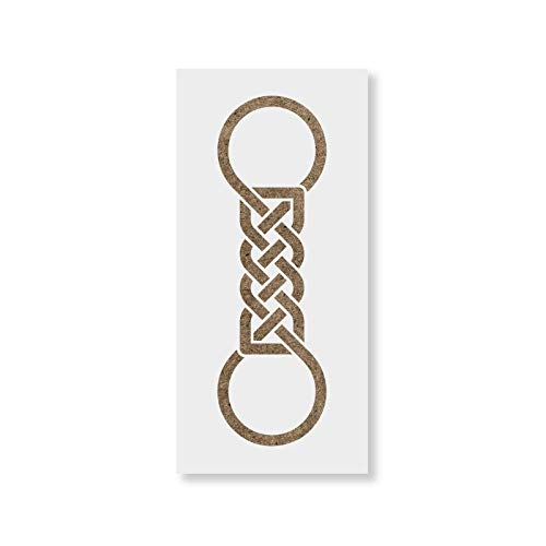- Celtic Knot Stencil Template for Walls and Crafts - Reusable Stencils for Painting in Small & Large Sizes