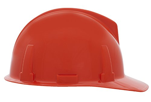 MSA C220039 Polycarbonate Topgard Protective Cap, 1-Touch Suspension, OPGI, Orange ()