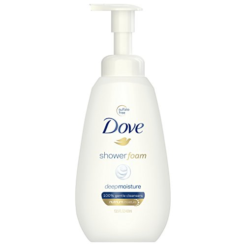 - Dove Shower Foam, Deep Moisture, 13.5 oz