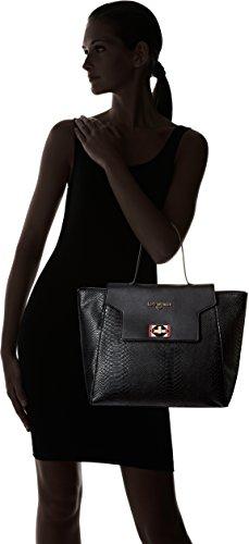 LPB Woman Cabas - Borse Tote Donna, Noir, 34x29x44 cm (W x H L)