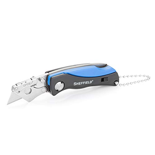Sheffield 12125 Mini Quick Change Folding Lockback Utility Knife
