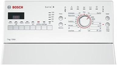 Bosch Serie 4 WOT24255ES Independiente Carga superior 7kg 1200RPM ...