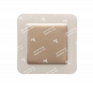 Optifoam Antimicrobial Adhesive Gentle Border Dressings - MSC9766EPH