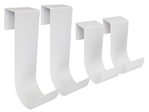 MIDE Products 1SET-W Fence Hooks, White -