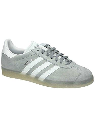 adidas Gazelle Mid Grey White Metallic Silver gris