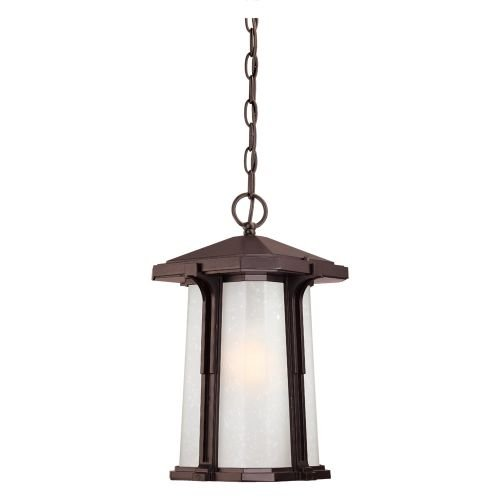 Acclaim 3456ABZ Illuma Collection 1-Light Outdoor Light Fixture Hanging Lantern, Architectural Bronze