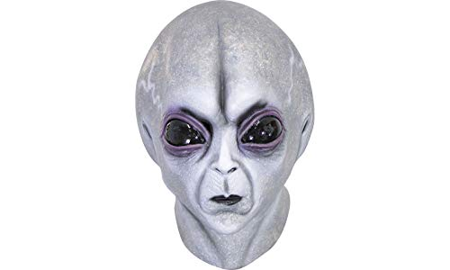 Area 51 Alien Mask Halloween Costume Accessory, One Size, 12