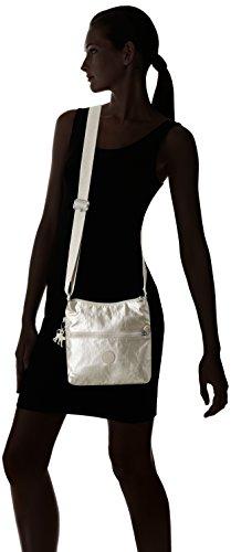 Zamor Shoulder Women's silver Kipling Tobacco Silver dazz Beige Brown B C N Bag tqwSEadvCS
