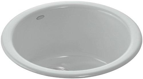 (Kohler K-6565-95 Porto Fino Self-Rimming/ Undercounter Entertainment Sink, Ice Grey)