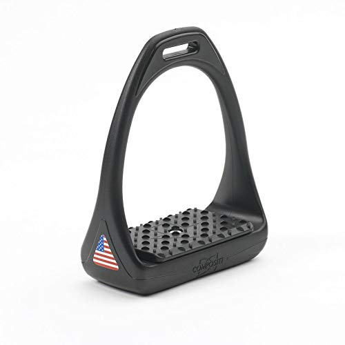 Compositi USA Reflex 3D Swivel Action Wide Track Stirrups Size:4 3/4
