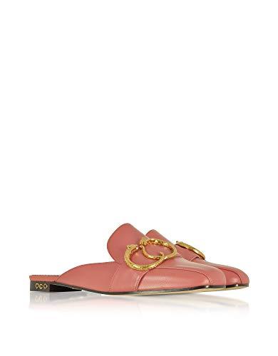 rosa eleganti Mocassini Charlotte Olympia Womens in pelle Olp185934b08020 4Axf1W0q