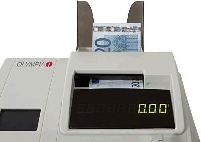 Olympia 947990003 Currency Detector for Euro Prüfzeit Light -