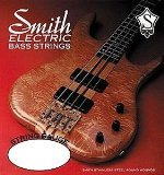 SMITH ELECTRIC BASS STRINGS MASTER SERIES AA-RM-ML Rock Masters Medium-Light Stainless Steel Bass Guitar Strings, (Round Wound Double Bass Strings)