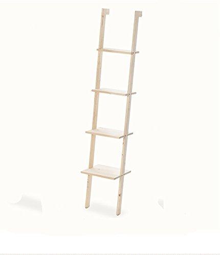 uwszz regal leiter f rmige massivholz racks 160 35 5 cm. Black Bedroom Furniture Sets. Home Design Ideas