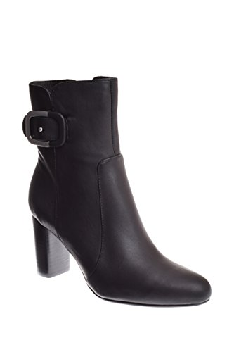 Chelsea Crew Delilah Dress Boot, Black Leather