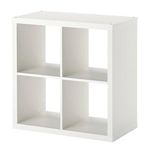 2 x IKEA KALLAX - estantería, estantería, blanco, perfecto para cestas o cajas: Amazon.es: Hogar