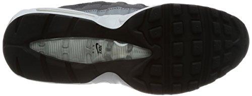 Nike Air Max 95 Essentiële Mens Tennisschoenen 749766-300 Zwart / Zwart-antraciet