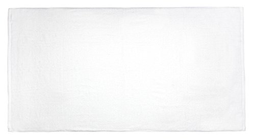 Everplush Diamond Jacquard Bath Sheet 2 Pack in White by Everplush (Image #2)