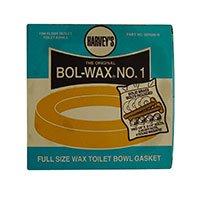 (Harvey's Bol-Wax No.1 - Full Size Wax Toilet Bowl Gasket)