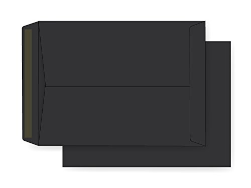 9 x 12 Catalog Envelope - 70# Eclipse Black (9 x 12) - Astrobright Jumbo Series (Open End) (Pkg of 25) Office Express
