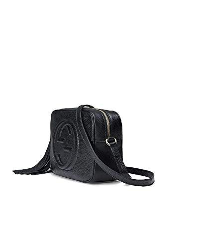 Genuine leather fashion disco crossbody bag -