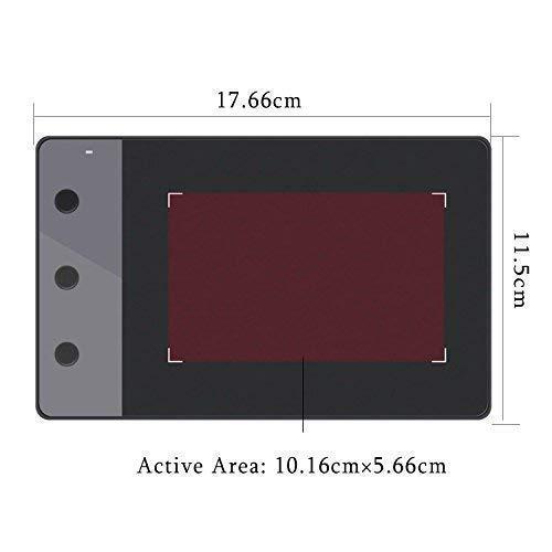 HUION Dibujo Digital Profesional H420 y Tableta gráfica con 3 Llaves Express y bolígrafo (4x2.23 Pulgadas): Amazon.es: Electrónica