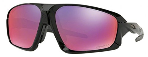 Oakley - Field Jacket - Polished Black - Black Frame-Prizm Road Lenses by Oakley