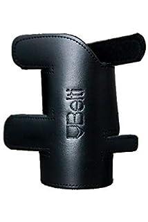 Hochwertiger Handschutz Schnürverschluss Schoner für Flügelhorn aus Echtleder