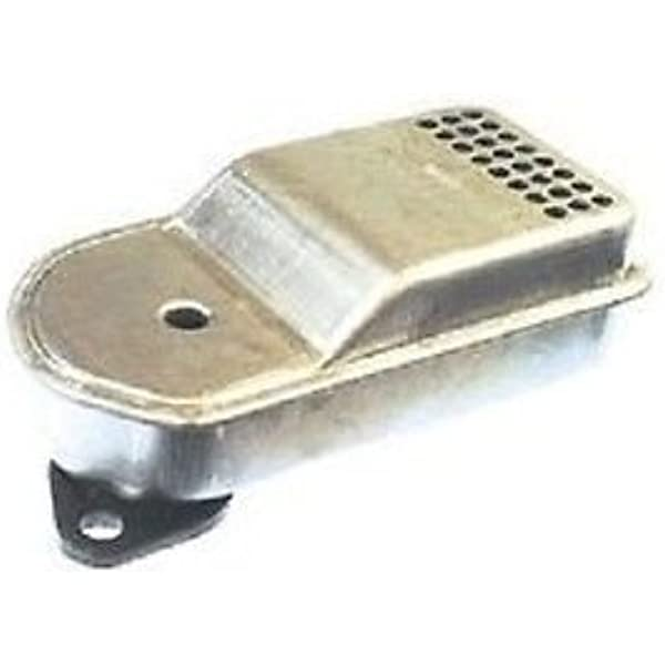 Muffler Tecumseh H70 HH60 HH70 and HSK70 For 4 to 7 HP Snowthrowers With Horiz
